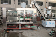 Rotary 3 In 1 Herbal Tea Glass Botol Rinser Filler Capper Machine Full Automatic