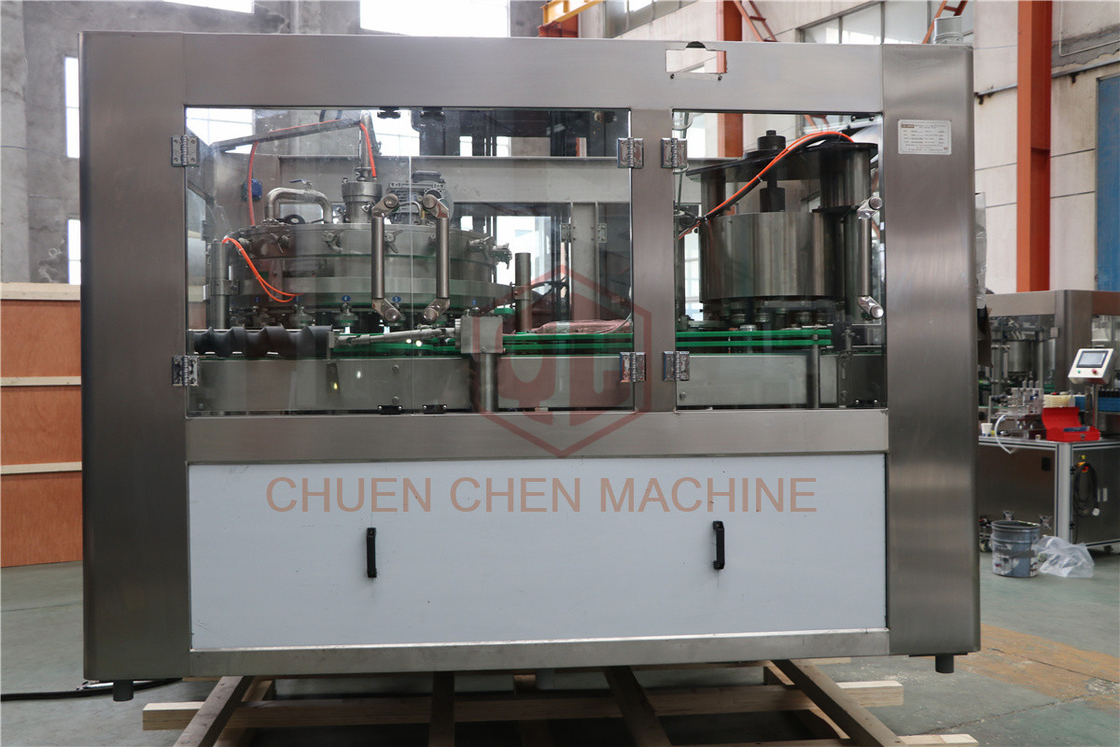 Full Automatic Beverage Can Filling Machine With Stable Filling Speed