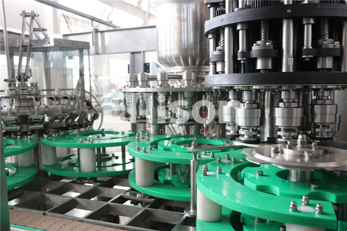 Rinsing Filling Capping Monoblock Water Bottle Filling Machine